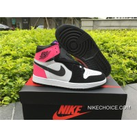 Women Authentic Air Jordan 1 OG GS 'Valentine's Day' 881426-009