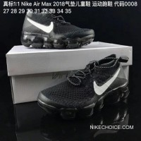 Kids Nike Air VaporMax 2018 Flyknit Running Shoe SKU:127703-222 Authentic