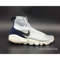 Authentic Nike Air Footscape Magista Wolf Grey/Black-Sail