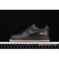 Discount Nike Air Force 1 Low WTR Gore-Tex Black